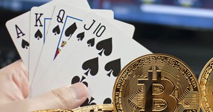 bitcoin poker room